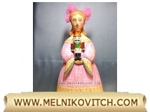 Clara Stahlbaum, wooden Nutcracker story personage