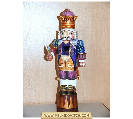 Nutcracker Prince with crown is the number one gift on Christmas Day