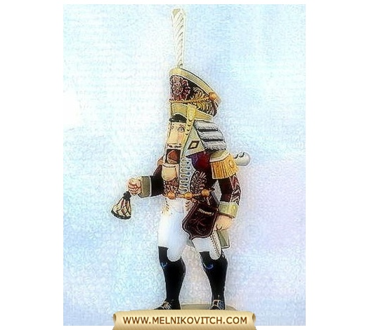 Nutcracker Night Watchman (Wooden Nutcracker)
