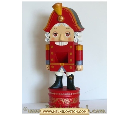 Music box and wooden Nutcracker