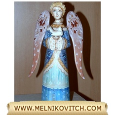 Guardian Angel figurine as Christmas gift