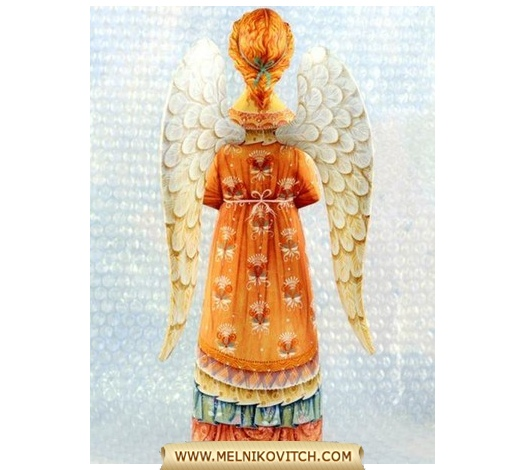Figurine Guardian Angel with dove