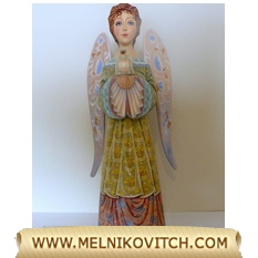 Guardian angel as gift figurine