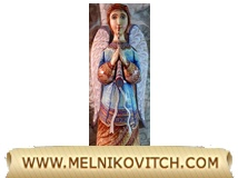Angel Figurine - wooden sculpture of an angel