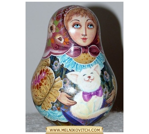 Matryoshka doll, a traditional Russian souvenir