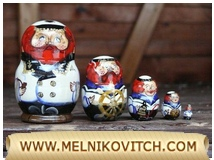 Sailor: Matryoshka dolls 5 pcs