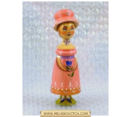 Christmas tree toy: Mary (Clara) as Nutcracker girlfriend