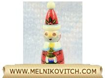 Christmas tree decoration: Santa Claus figurine