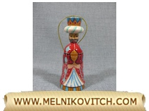 Magus figurine as Christmas tree decoration