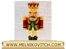 Nutcracker as Christmas tree toy