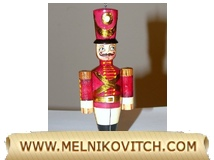 Wooden Christmas toy-soldier