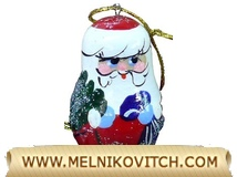 Santa Claus Wooden Christmas decorations assortment for Art Reseller