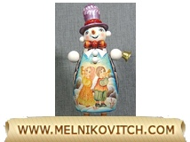 Toy Snowman figurine folklore character