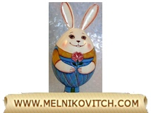 Gift Rabbit - Rabbit with container for Easter surprises