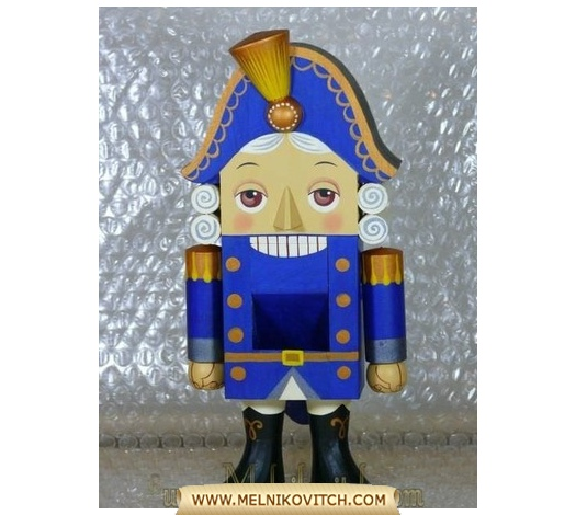 The Nutcracker, a wooden handmade doll - fairy tale by E. T. A Hoffman Bue