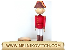 Nutcracker with a music box