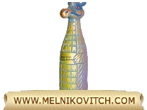 Golden Dragon Bottle Holder by Art Studio Melnikovitch