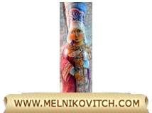 Matryoshka case for a bottle. Wooden Cover for bottles