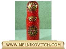 Russian Bottle Cover «Matrioshka»